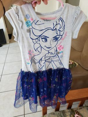 Elsa Frozen laced dress for Sale in Clearwater, FL