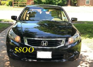 🔑🔥URGENT $8OO Very nice 2OO9🔑 Honda Accord Sedan V6 EX-L 𝓹𝓸𝔀𝓮𝓻 𝓢𝓽𝓪𝓻𝓽 Run and drive very smooth🔑 for Sale in Arlington, VA