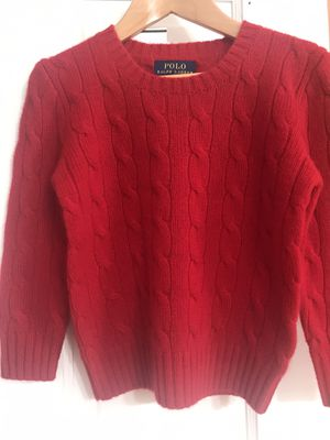 Boys Girls Ralph Lauren cashmere sweater 2T 3T Christmas for Sale in Federal Way, WA