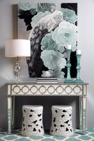Brand NEW Sophie mirrored collection console table / 100% new for Sale in Santa Clara, CA