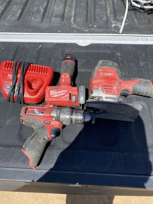 Milwaukee tools for Sale in Victorville, CA