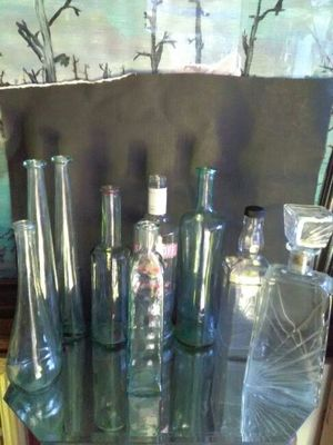 Glass bottle collection for Sale in Las Vegas, NV