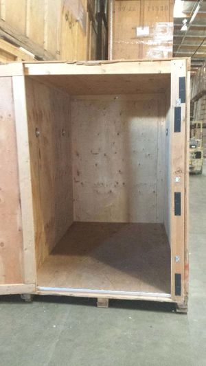 Portable Storage wood container pod 8' long x 7'tall x 5' wide for Sale in Huntington Park, CA