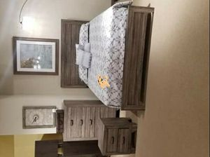 🦋BEST OFFER🦋🔔Same Day Delivery🔔[HOT DEAL] Millie Brown Panel Bedroom Set 4-Piece Queen (QB/D/M/N) for Sale in Laurel, MD