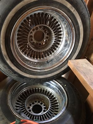 "Wire wheels 14"" for Sale in Mattawa, WA"