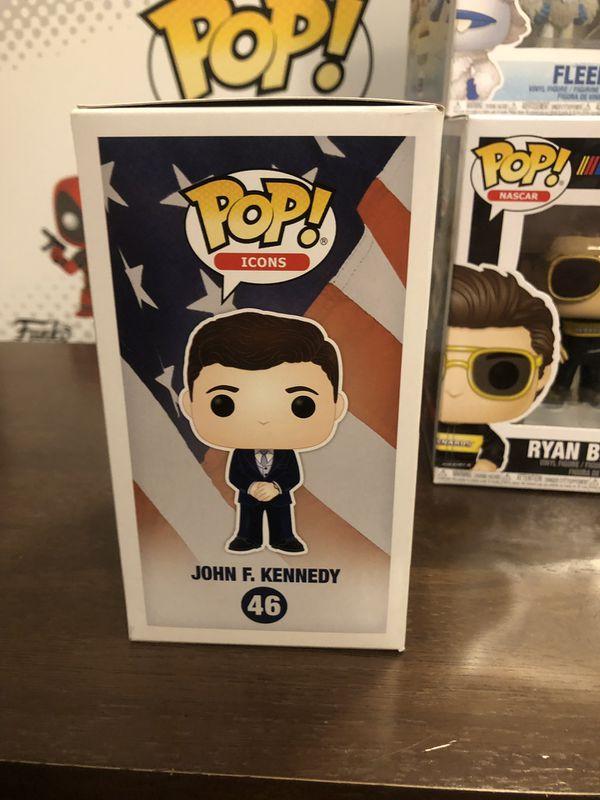 John F Kennedy #46 Funko Pop