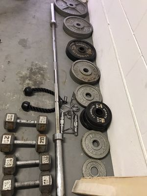 Workout weights for Sale in Auburndale, FL