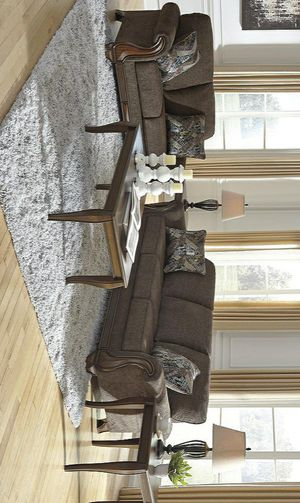 İn Stock🍒Miltonwood Teak Living Room Set by Ashley for Sale in Jessup, MD