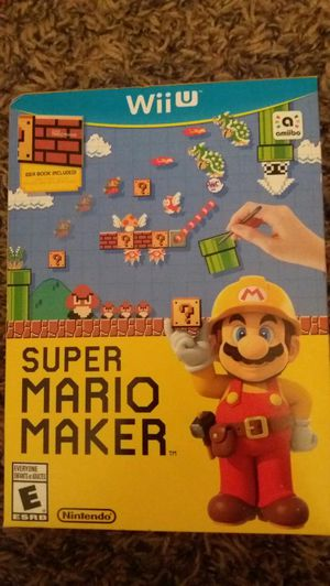 SUPER MARIO MAKER (Nintendo Wii U) NEW! for Sale in Lewisville, TX