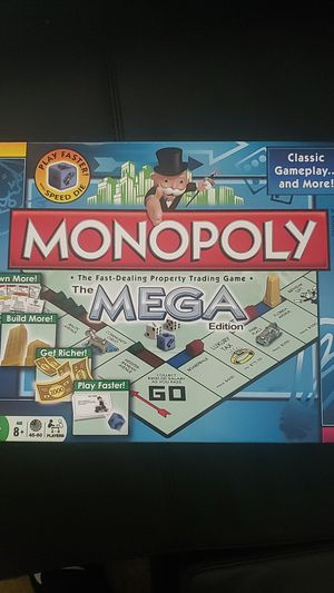 """Monopoly The Mega Edition """"Brand New"""" for Sale in Fairfax Station, VA"""