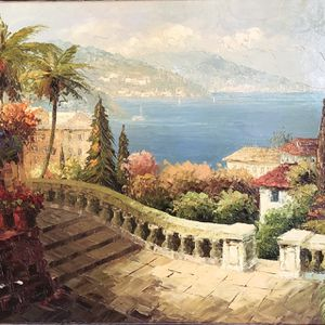 Italian Scenery Painting for Sale in Port St. Lucie, FL