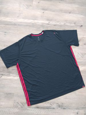 Mens Adidas Climalite Shirt, Size 3X Black Red for Sale in Victoria, TX