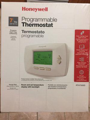 Honeywell thermostat rth7500d for Sale in Stockton, CA
