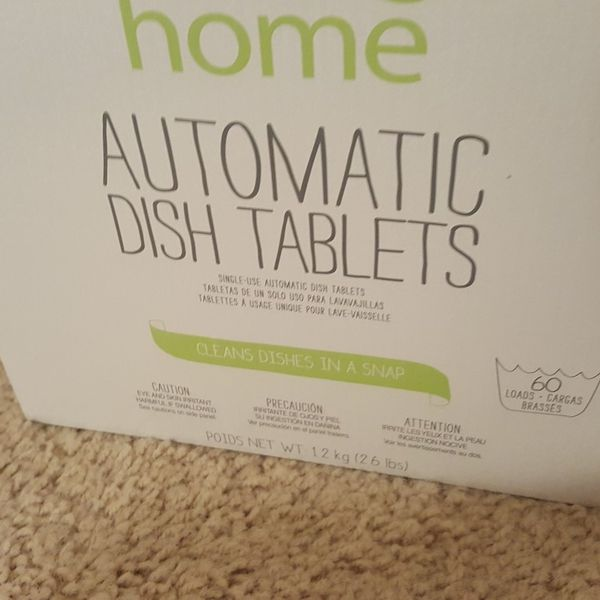 Dish Washer Tablets - 3 For $15