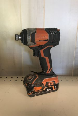 Ridgid drill and impact driver for Sale in Port St. Lucie, FL