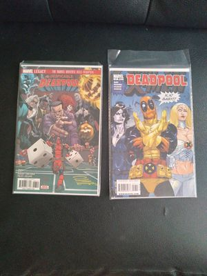 Deadpool Marvel Comics -collectio. Of 2 for Sale in Henderson, NV