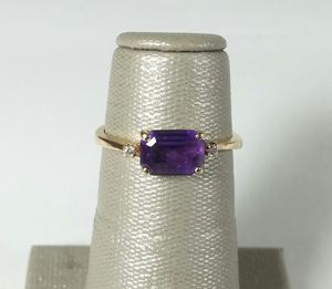14kt Yellow Gold Amethyst Ring for Sale in St. Petersburg, FL