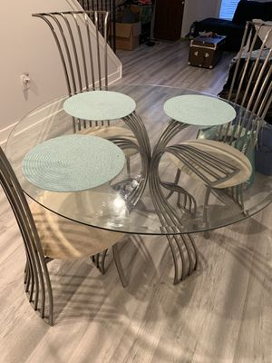 Beautiful glass kitchen table for Sale in Baltimore, MD