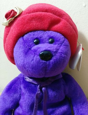 Red Hats Ty Beanie Baby Bear for Sale in Miami Gardens, FL