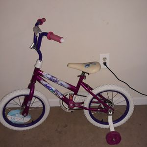 Gently Used Girl Bike Size 14 Wheels for Sale in Suitland, MD