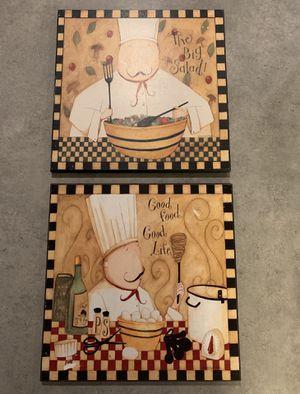 Chefs kitchen decor for Sale in San Antonio, TX