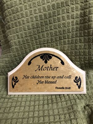 Mother plaque home interiors for Sale in Dallas, TX