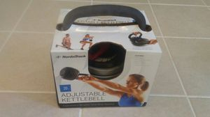 NordicTrack - 20 lb Adjustable keetlebell for Sale in Brandywine, MD