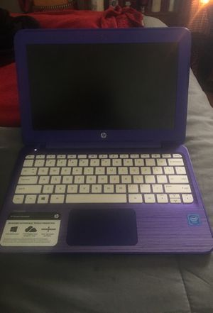 Barely used HP Stream Notebook 11 for Sale in Kenosha, WI