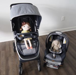 Brand new chicco Bravo stroller and car seat for sale for Sale in Ashland, MA