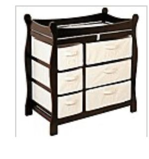 Dark Brown Baby Changing Table for Sale in Plantation, FL