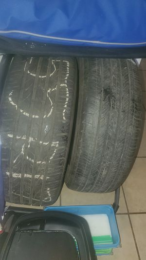 Two 55 R17 Tires for Sale in Fresno, CA