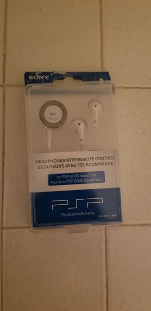 Headphones for psp for Sale in Inglewood, CA