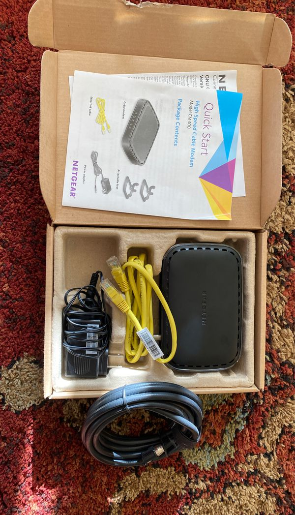 Netgear cable modem high speed docsis 3.0