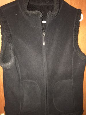 Black Ladies Vest -Soft & Cozy for Sale in Neenah, WI
