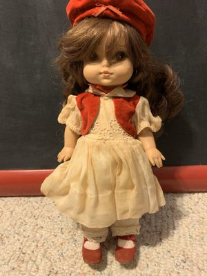 Vintage doll holiday look for Sale in Indian Trail, NC