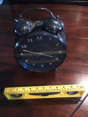 Chrome Alarm clock ⏰ for Sale in West Covina, CA