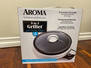 Aroma 3 in 1 Grill Skillet Grillet for Sale in Chula Vista, CA