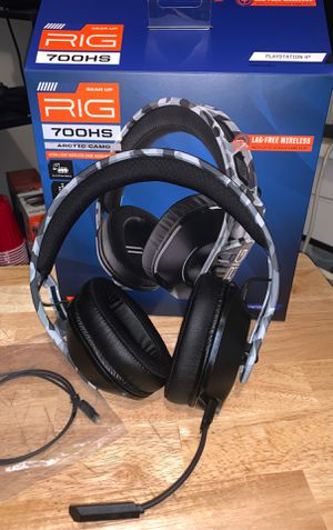 Gear Up Rig 700hs Arctic Camo Wireless Game Headphones for Sale in Turtle Creek, PA