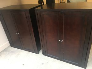 Brown Wardrobes 48x42x24 for Sale in Chantilly, VA
