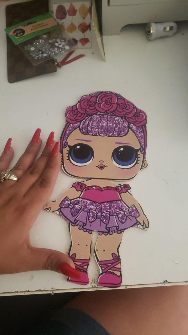 Lol doll wood image