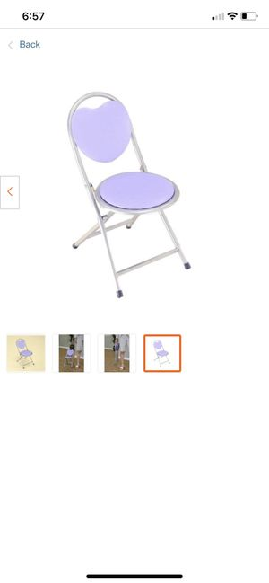 Foldable padded chair for kids for Sale in Charlotte, NC