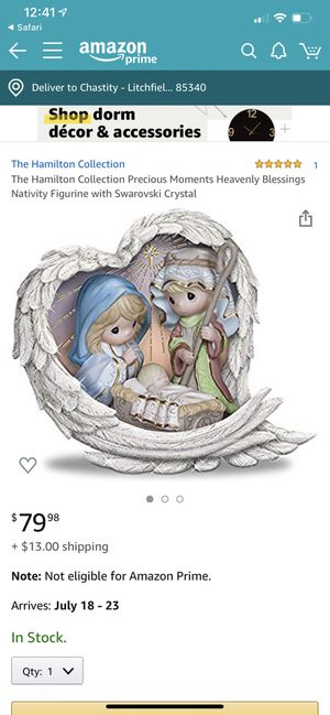 """Precious Moments """"Heavenly Blessings"""" Nativity Figurine for Sale in Litchfield Park, AZ"""