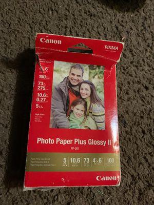 Canon Photo paper glossy for Sale in Vista, CA