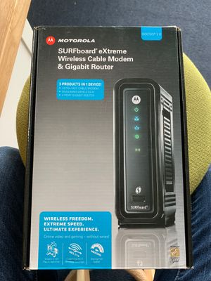 Modem and router for Sale in Falls Church, VA