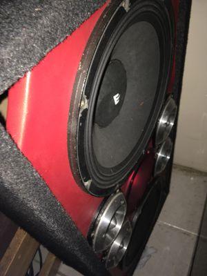 Ev,kickers,Taramps,clarion ,pioneer radio for Sale in Providence, RI