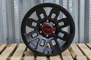 "Tacoma TRD Rims Satin Black 17""x8 15 6x139.7 New Set for Sale in Hayward, CA"