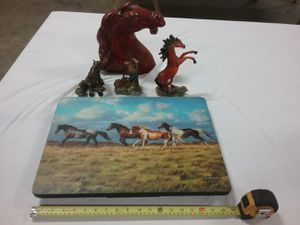 Collectible horse picture and statues for Sale in Fort Worth, TX