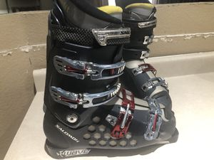 Men's Salomon X Wave Ski Boots 27.5 or 9 1/2 for Sale in Mesa, AZ
