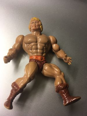 Vintage MOTU He Man Action Figure Toy Collection. Made in Spain for Sale in El Paso, TX