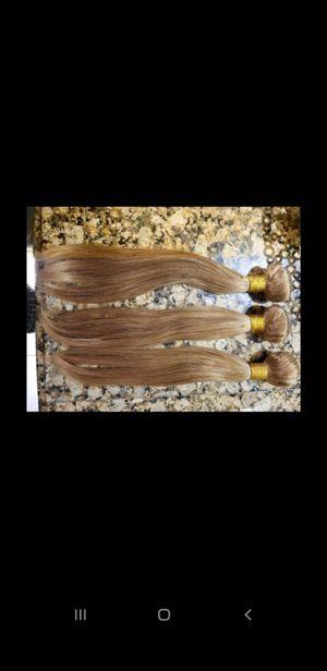 16inch honey blonde hair bundles SERIOUS BUYERS for Sale in Wellington, FL